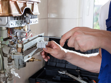 Technical service: boilers, electrical appliances, etc.
