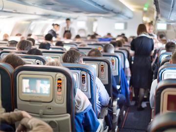 In-flight sales
