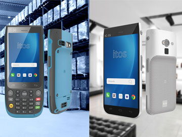 ITOS presents its new IT-50 and IC-55 handheld devices at Logistics trade show